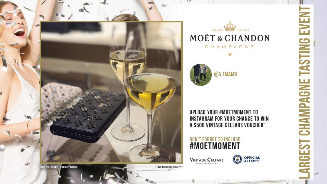 Moët & Chandon - Sydney Opera House 2017